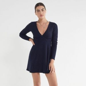 Urban Outfitters Coraline Cozy Wrap Dress